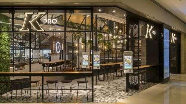 肯德基今年在杭州開立KPro餐廳,試圖轉變形像。(BBC中文網)