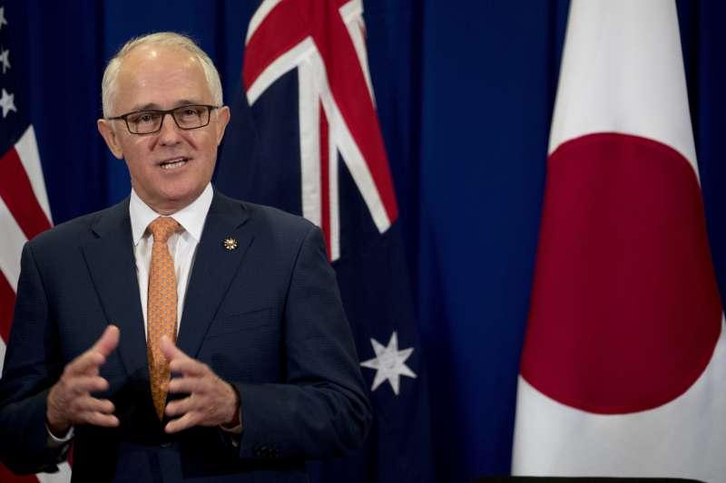 澳洲現任總理騰博支持同志平權,但一開始反對舉行同婚公投。(美聯社)