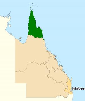 萊卡特選區位於昆士蘭極北地區,一般認為是思想保守的鄉間地區。(Barrylb@Wikipedia / CC BY-SA 4.0)