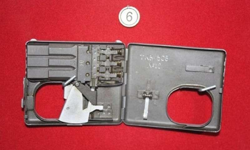 煙盒式微聲手槍。(俄羅斯衛星網)
