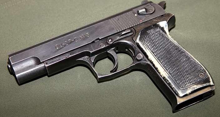 OTs-27 「斧」手槍。(俄羅斯衛星網)