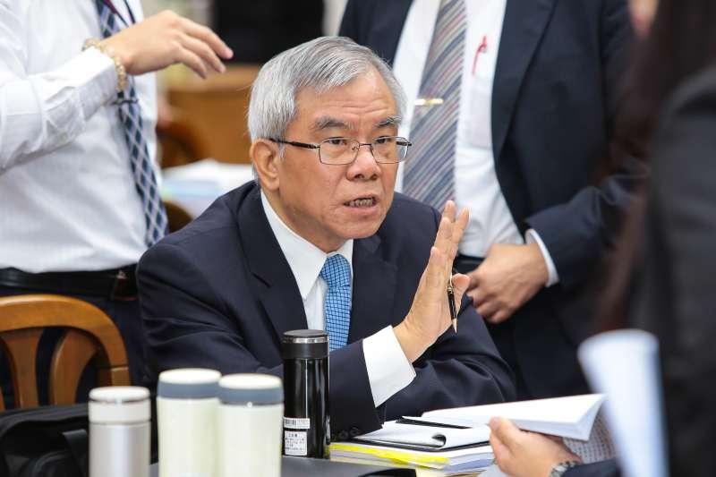 20171116-彰銀董事長張明道16日出席立院財政委員會。(顏麟宇攝)