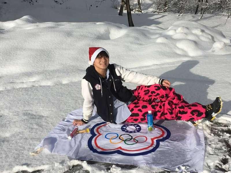 2016年參與亞洲雪橇錦標賽,她創下超越男子B組冠軍的好成績!(圖/林芝韻 Jr-Yun,Lin@Facebook)