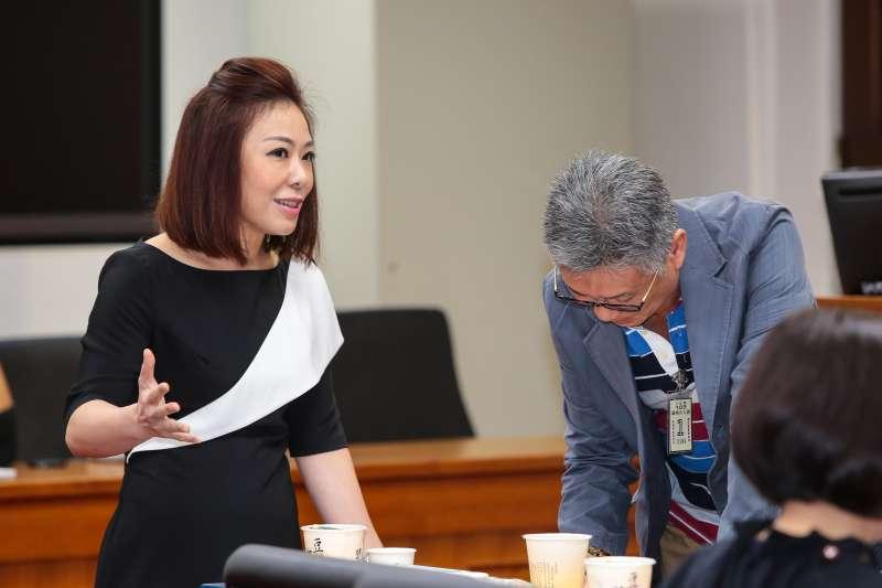 20171117-國民黨立委李彥秀17日出席國民黨團大會。(顏麟宇攝)