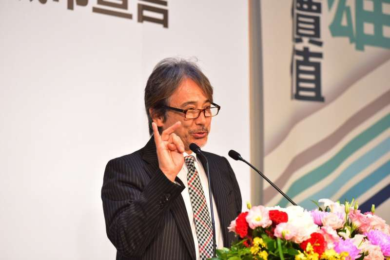 東京馬拉松賽事總監早野忠昭在會中表示,非常認同趙天麟運動新經濟的理念,用運動賽事行銷城市也是東京馬拉松的精神。(圖/趙天麟立委辦公室提供)