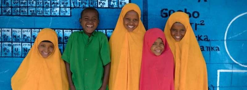 11月20日是聯合國訂定的「世界兒童日」,圖為衣索比亞小學生。(圖/UN)