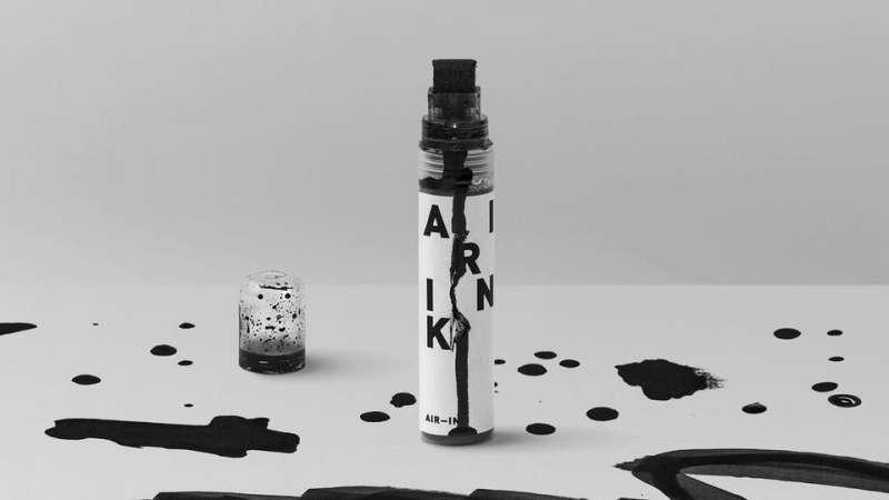 「空汙墨水」讓空氣污染物可以得到好的利用,有助於環境永續經營。(圖/Graviky Labs@Facebook)