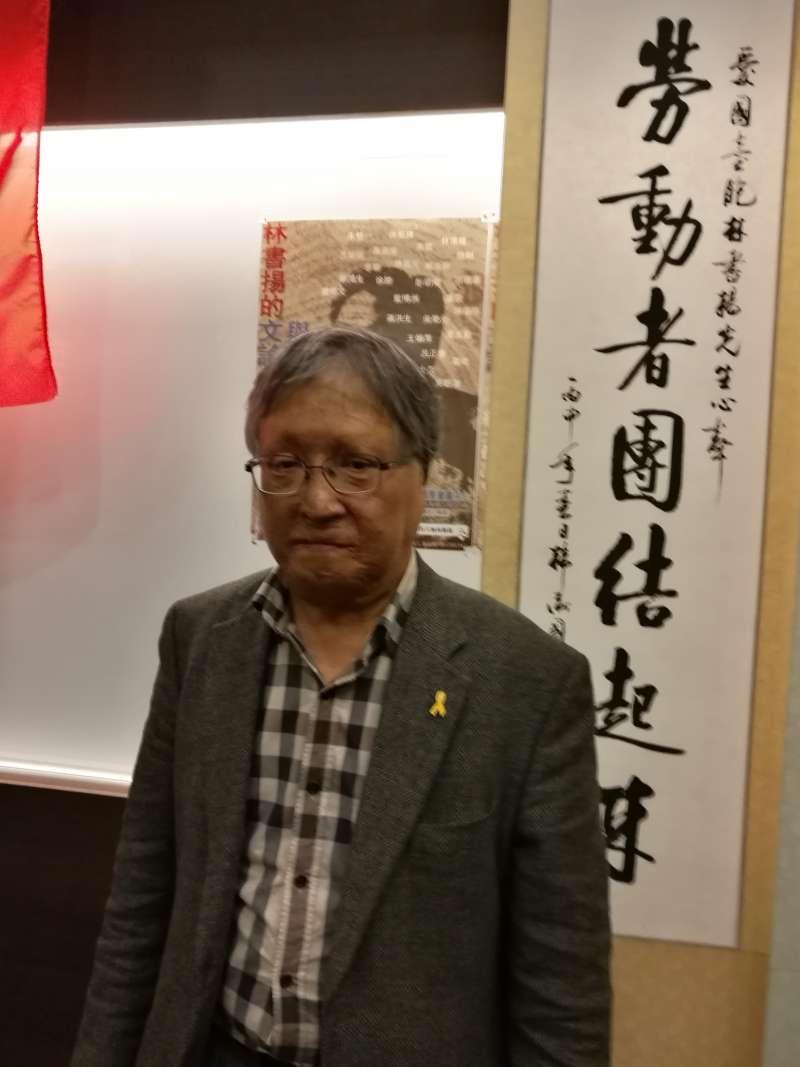 《獄中十九年》作者徐勝(新國際提供)