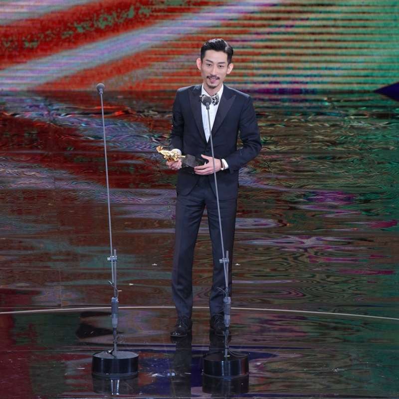 陳竹昇在《阿莉芙》飾演跨性別者,獲最佳男配角。(取自金馬影展 TGHFF臉書)