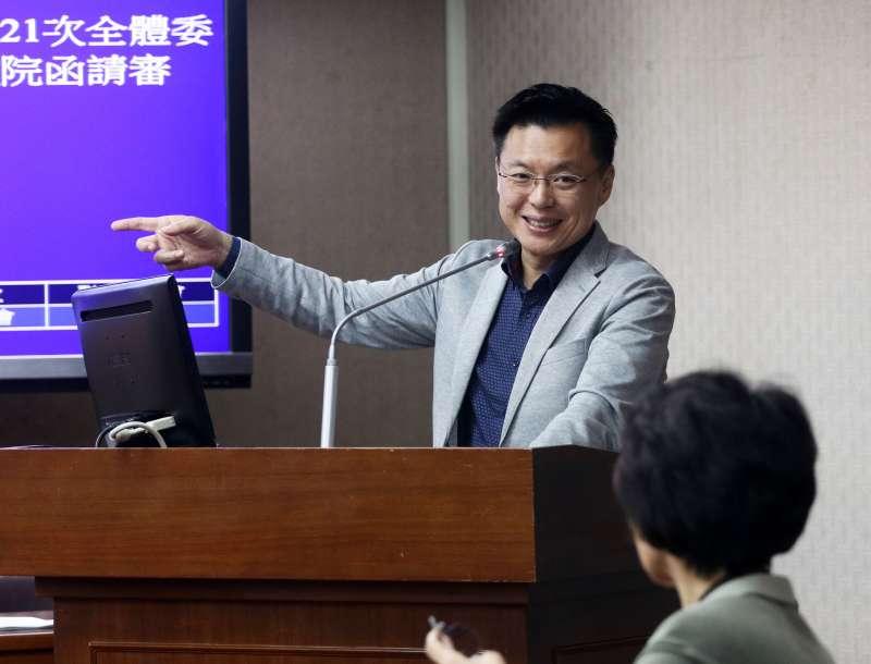 20171127-立法院內政委員會,民進黨委員趙天麟。(蘇仲泓攝)
