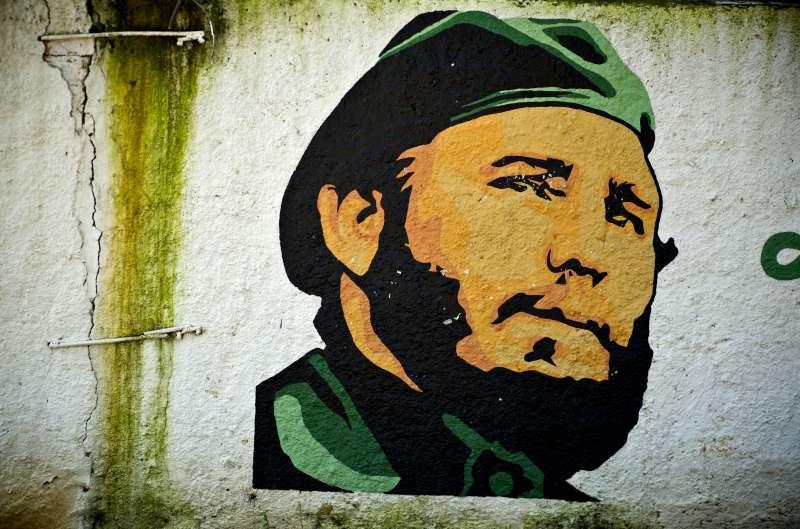 古巴強人菲德爾‧卡斯楚逝世一周年,弟弟勞爾‧卡斯楚也即將卸任。(美聯社)