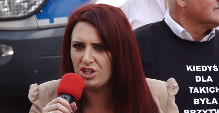 英國極右派團體「英國優先」副領袖弗蘭森(截自YouTube)