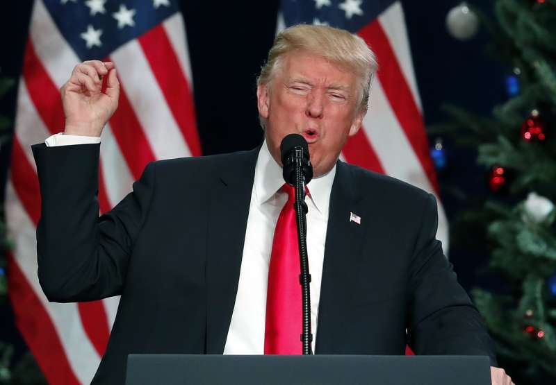 美國總統川普從競選期間到上任後,一向明白表示其仇視伊斯蘭教、仇視穆斯林的立場(AP)