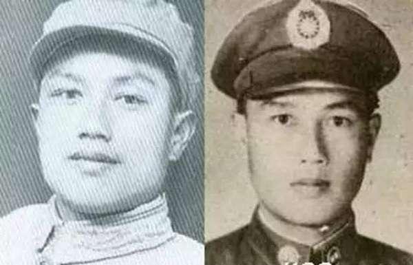 除利華(左)後以陳開中(右)的身份,混入國軍部隊。