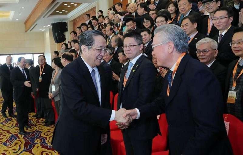 第三屆兩岸媒體人峰會。 (新華網)