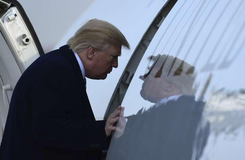 深陷「通俄門」風暴的美國總統川普(AP)