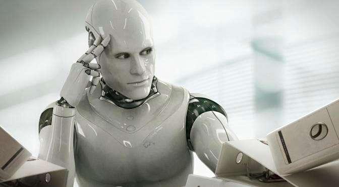透過機器人的「毫無人性」,撇開人性主觀情緒,穩定追蹤金融市場波動,才有機會在常態性的波動市場中,真正賺到錢(圖/ebongeek.com)