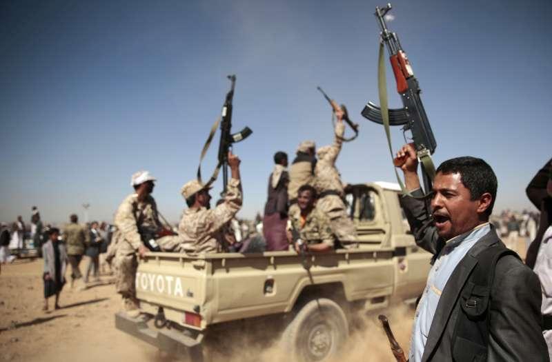 葉門什葉派叛軍胡塞組織(Houthis)(AP)