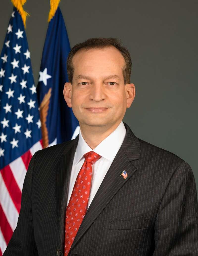 美國勞動部長阿科斯塔(Alexander Acosta)。(美聯社)