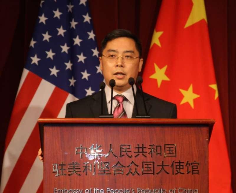 中國駐美公使李克新。(取自網路)