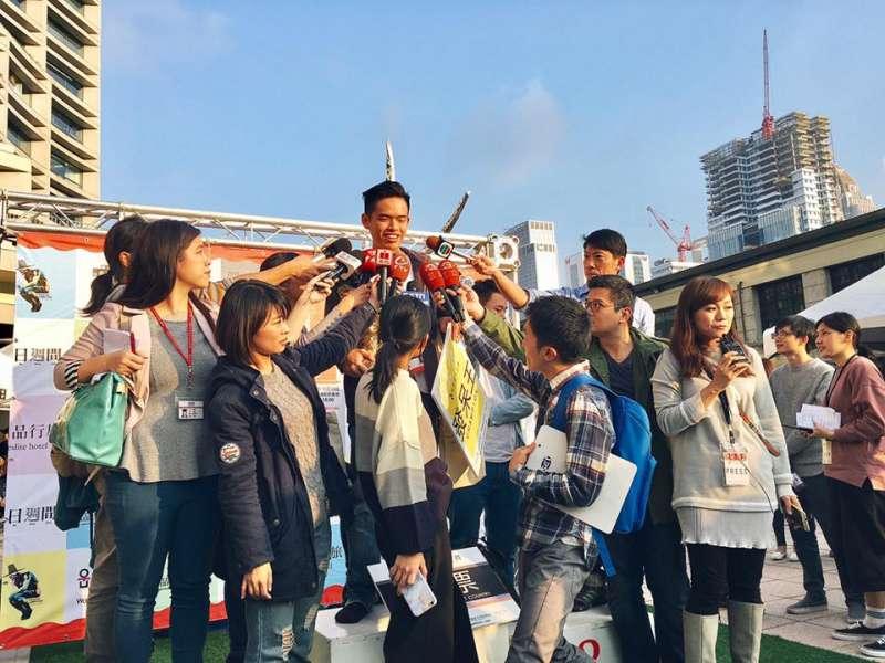 香港學生獲得發呆大賽冠軍。(圖/發呆比賽台灣站@Facebook)