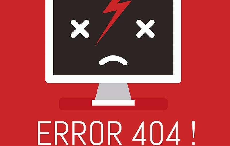404 的錯誤世界,在中國無處不在。