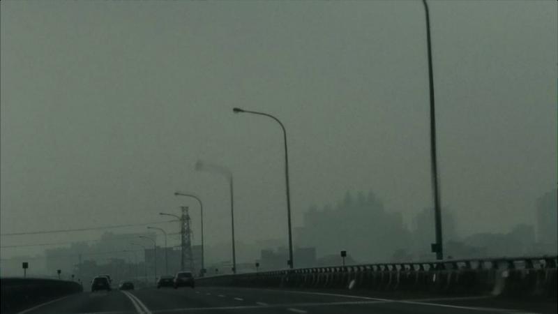 20171211-全台霧霾壟罩,五里霧的空汙已成台灣常態。(作者葉文忠提供)