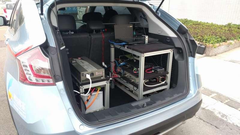 相較於Nvidia的車載平台主機,造價相當昂貴,車輛中心的主機成本僅在30萬左右,由兩台工業電腦和兩台筆電組成。(圖/ARTC車輛中心,數位時代提供)