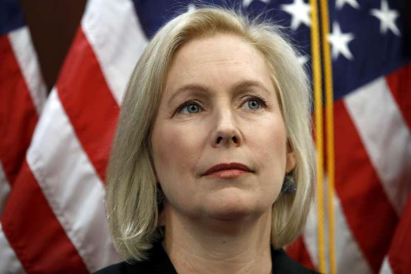 紐約州民主黨籍聯邦參議員陸天娜(Kirsten Gillibrand)(AP)