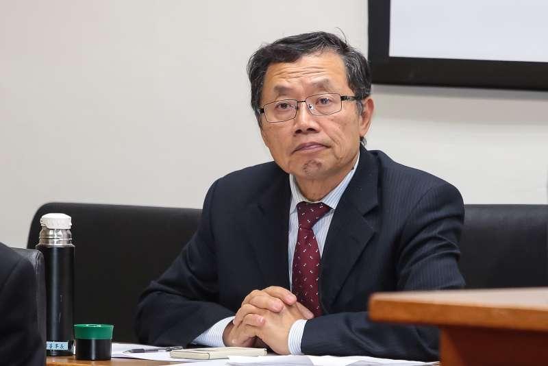 20171214-台水董事長郭俊銘14日於經濟委員會備詢。(顏麟宇攝)