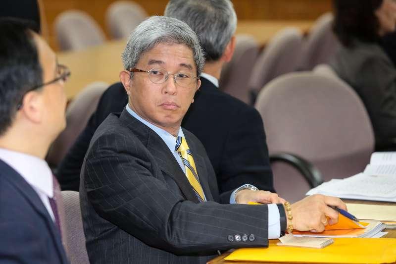 20171214-台灣民主基金會執行長徐斯儉14日出席立院外交國防委員會。(顏麟宇攝)