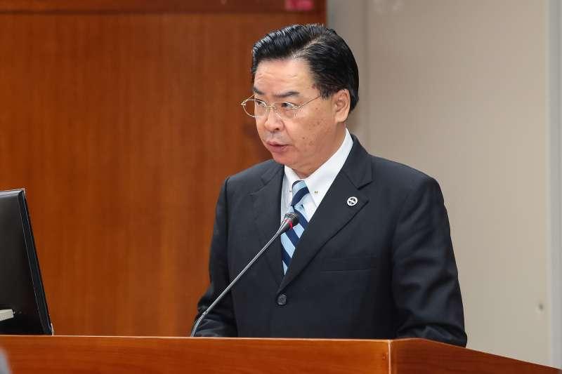 20171214-總統府秘書長吳釗燮14日出席立院司法法制委員會。(顏麟宇攝)
