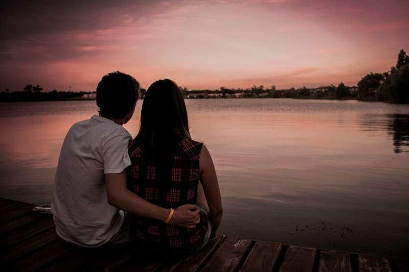 兩性、情人、愛情、情侶、朋友。(取自pixabay)