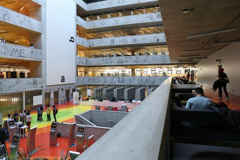 捷克國家科技圖書館。(田中央聯合建築師事務所提供)