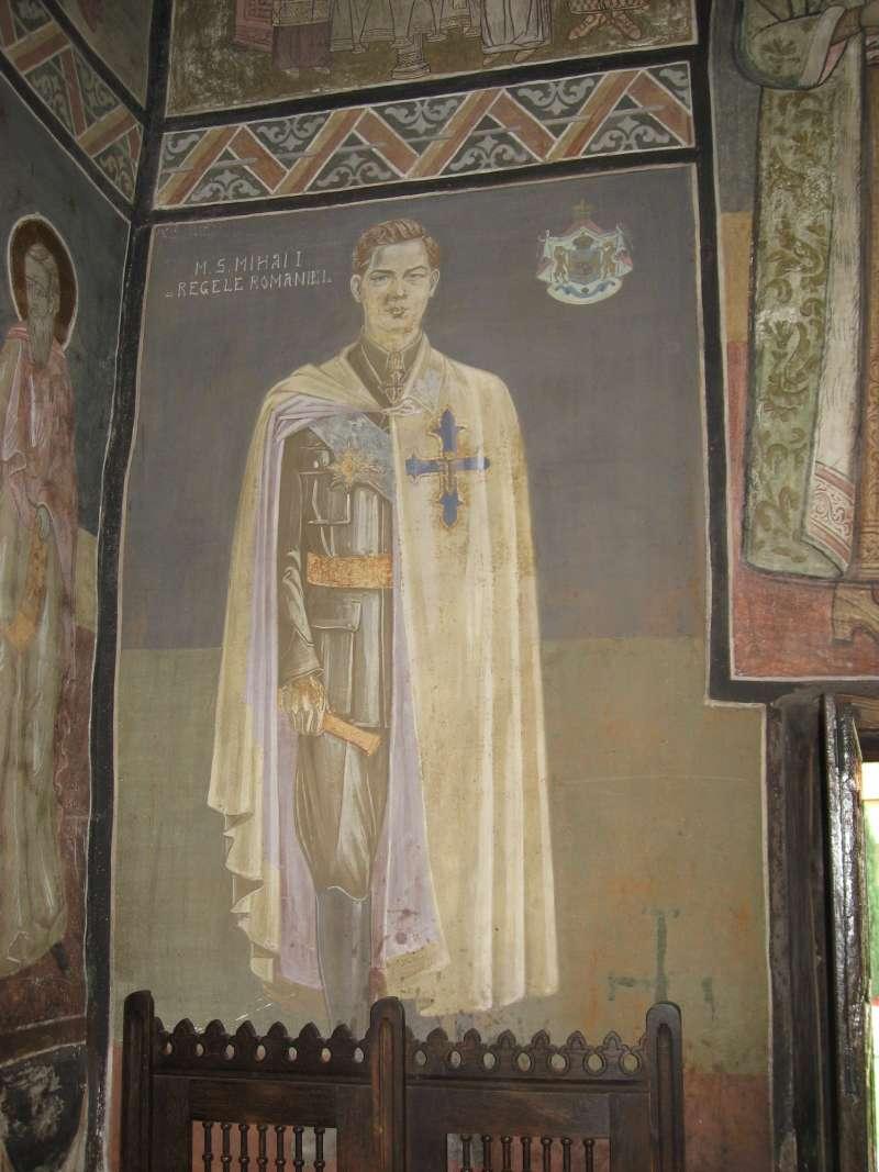 羅馬尼亞末代國王米哈伊(King Michael)年輕時的畫像(El bes@Wikipedia / GFDL)