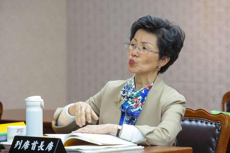 20171221-陸委會主委張小月21日出席內政委員會預算審查。(顏麟宇攝)