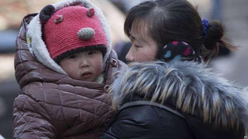 中國的一胎化政策實行35年,直到2015年,一胎化政策才正式走入歷史(AP)