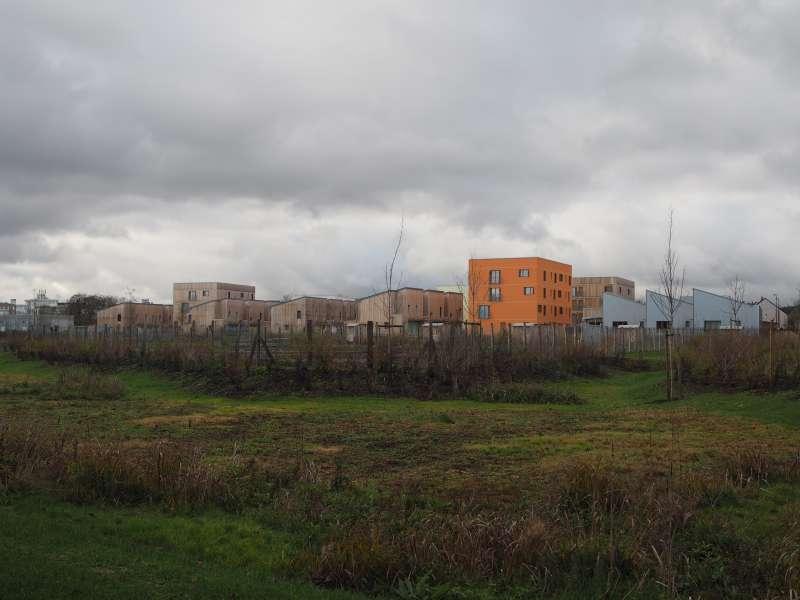 法國專題-諾亞社區,是由當地政府社會住宅管理局資助發起的新造鎮計畫。(尹俞歡攝)