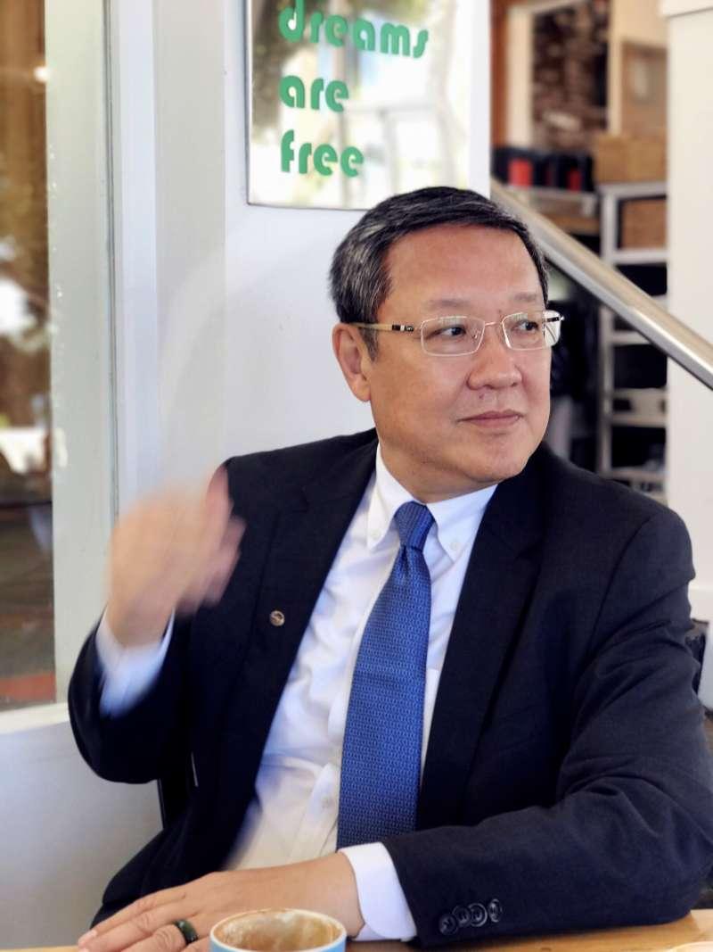 期服務於外交體系的前駐紐西蘭代表介文汲,也將宣布爭取黨內提名,成為台灣史上首位投入縣市長選舉的外交官。(介文汲競選辦公室提供)