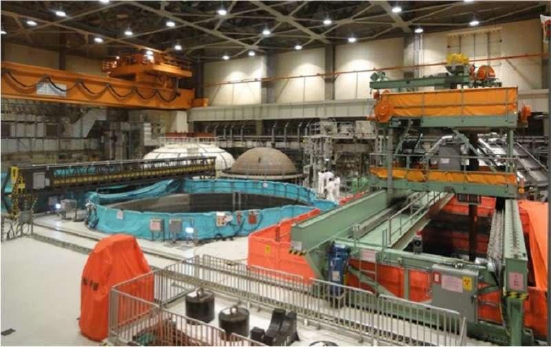 核四廠前1、2號機各約800多束燃料棒分別以乾式、濕式貯存。(圖片來源:台電公司)