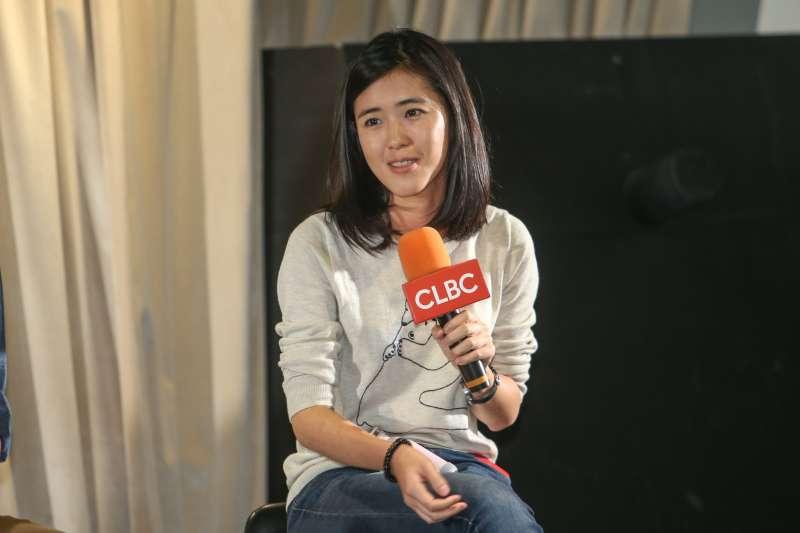 「為台灣而教」創辦人劉安婷,出席特別講座-從美國底層社會看台灣教育困境。(陳明仁攝)