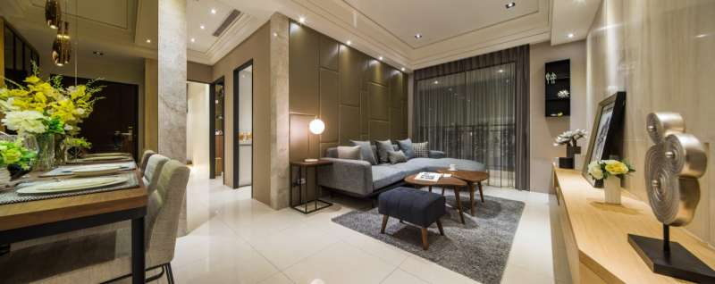 泰山近期唯一新案【合登上豪】規劃25-47坪,引起當地有換屋需求的民眾前來詢問。(圖/合登上豪提供)