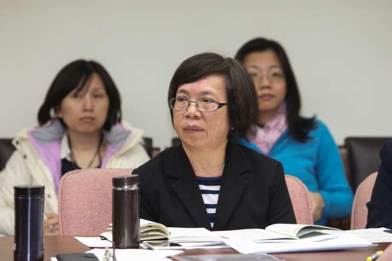 20171225-立法院.勞動部政務次長蘇麗瓊出席社會福利及衛生環境委員會。(陳明仁攝)