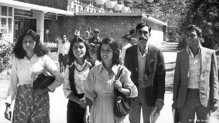 1980年代的阿富汗街頭。(德國之聲)