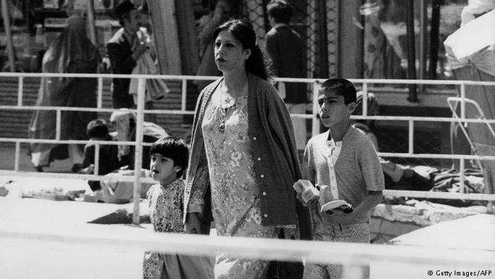 過去的阿富汗,女性可以自由自在上街。(德國之聲)