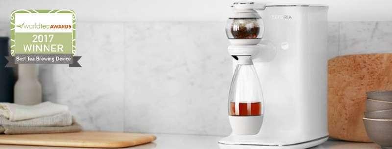 智慧泡茶機Teforia因為資金不足,宣布結束營業。(取自Teforia臉書)