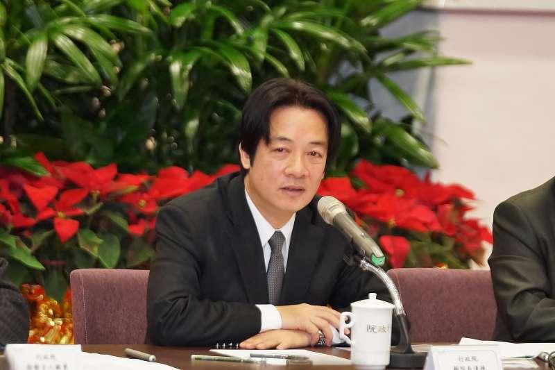 20171227-行政院長賴清德。(盧逸峰攝)