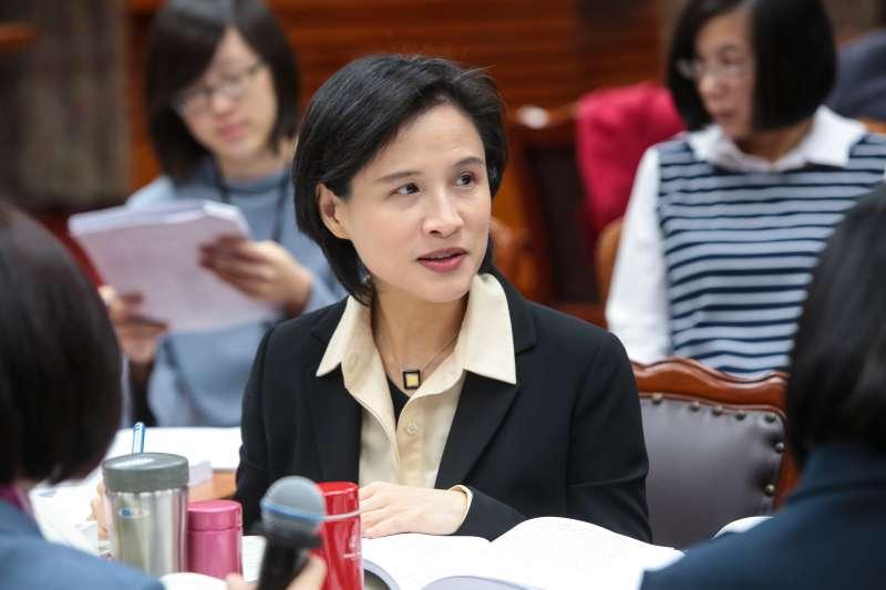 20171227-文化部長鄭麗君27日出席教育委員會審查預算。(顏麟宇攝)