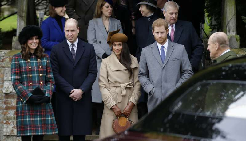 英國哈利王子與美國演員梅根‧馬克爾的婚禮,將不會如哥哥威廉王子一般盛大。(美聯社)
