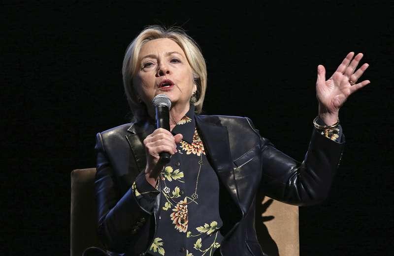 2016年美國總統候選人希拉蕊 (AP)